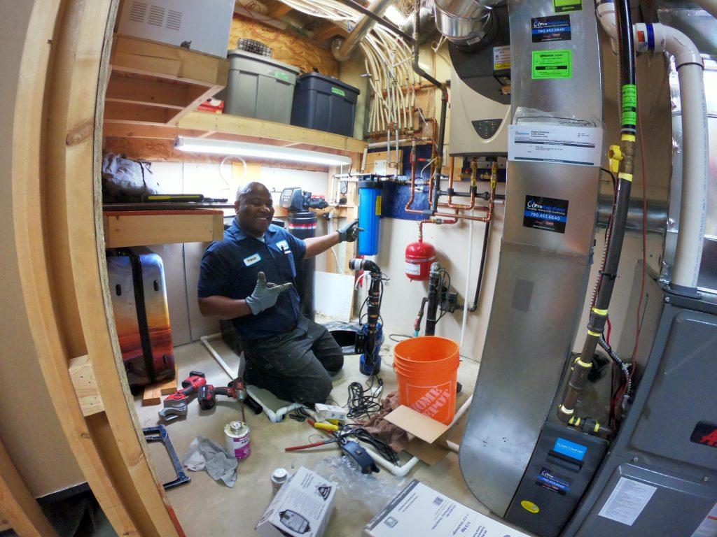 edmonton furnace installation